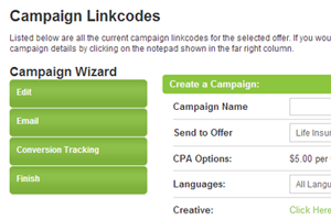 Affiliate Toolbelt includes a Linkcodee Wizard